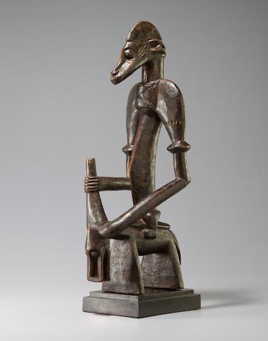 Senufo Equestrian Figure