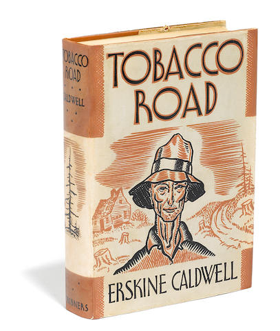 CALDWELL, ERSKINE. 1903-1987.  Tobacco Road. New York: Charles Scribner's Sons, 1932.