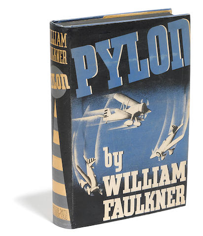 FAULKNER, WILLIAM. 1897-1962. Pylon. New York: Harrison Smith and Robert Haas, 1935.