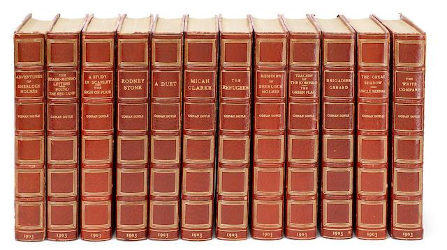 DOYLE, ARTHUR CONAN, SIR. 1859-1930. [Works]. London: John Murray, 1903 [but 1917].