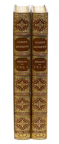 FIELDING, HENRY. 1707-1754.  The History of the Adventures of Joseph Andrews and of his Friend Mr. Abraham Adams. London: A. Millar, 1742.