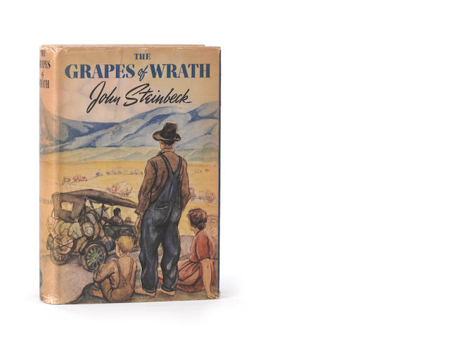 STEINBECK, JOHN. The Grapes of Wrath. New York: Viking, [1939].