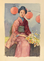 BRINKLEY, FRANCIS. 1841-1912. Oriental Series: Japan and China. Boston and Tokyo: J.B. Millet Company, [1901-02].