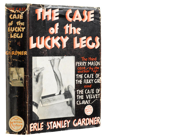 GARDNER, ERLE STANLEY. 1889-1970. The Case of the Lucky Legs.  New York: William Morrow and Company, 1934.