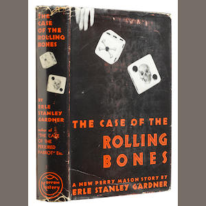 GARDNER, ERLE STANLEY. 1889-1970. The Case of the Rolling Bones. New York: William Morrow and Company, 1939.