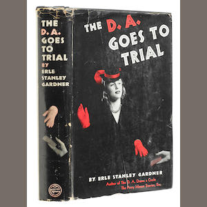 GARDNER, ERLE STANLEY. 1889-1970. The D.A. Goes to Trial. New York: William Morrow and Company, 1940.