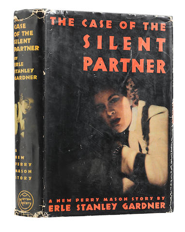 GARDNER, ERLE STANLEY. 1889-1970. The Case of the Silent Partner. New York: William Morrow and Company, 1940.