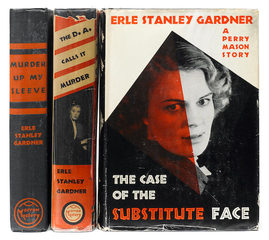 GARDNER, ERLE STANLEY. 1889-1970. 1. The D.A. Calls it Murder. New York: William Morrow and Company, 1937.