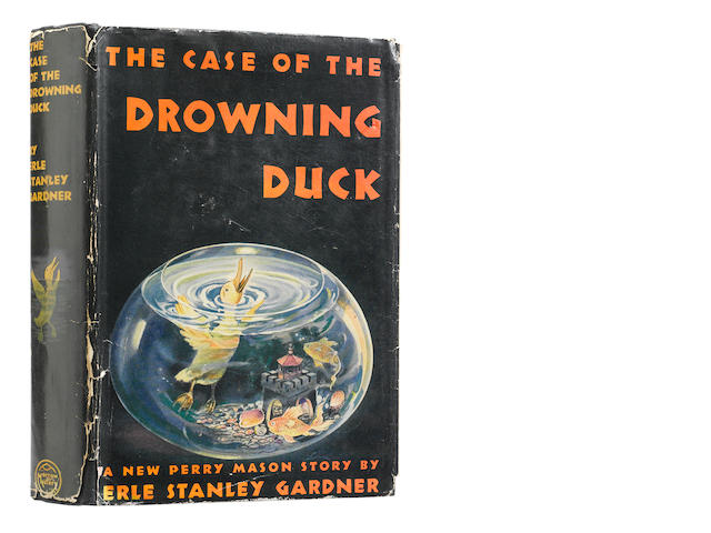 GARDNER, ERLE STANLEY. 1889-1970. The Case of the Drowning Duck. New York: William Morrow and Company, 1942.