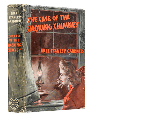 GARDNER, ERLE STANLEY. 1889-1970. The Case of the Smoking Chimney. New York: William Morrow and Company, 1943.