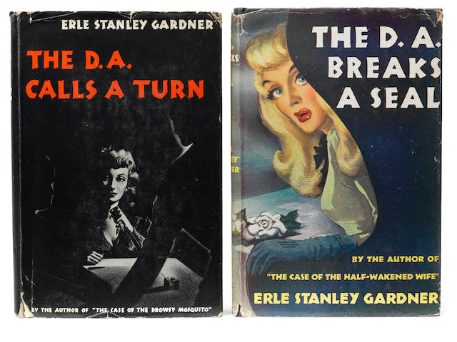 GARDNER, ERLE STANLEY. 1889-1970. 1. The D.A. Calls a Turn.