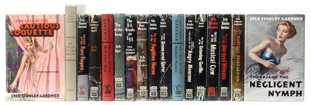 GARDNER, ERLE STANLEY. 1889-1970. Group of 17 titles, including: