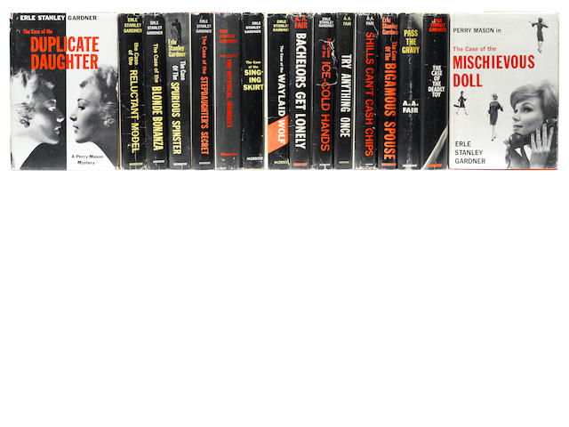 GARDNER, ERLE STANLEY. 1889-1970. Group of 16 titles, including: