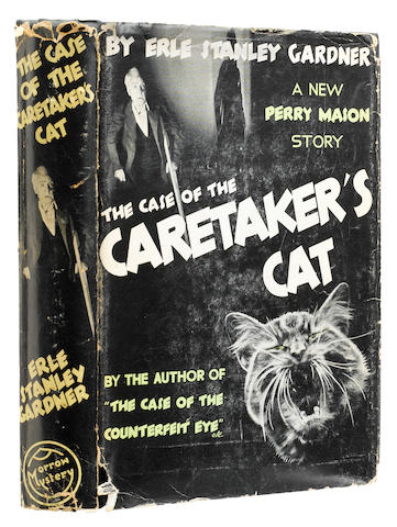 GARDNER, ERLE STANLEY. 1889-1970. The Case of the Caretaker's Cat. New York: William Morrow and Company, 1935.
