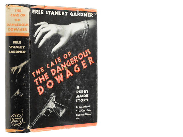 GARDNER, ERLE STANLEY. 1889-1970. The Case of the Dangerous Dowager. New York: William Morrow and Company, 1937.