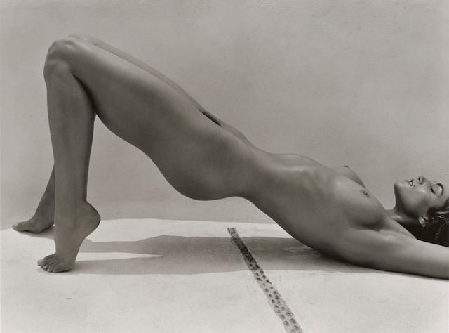 Herb Ritts (1952-2002); Cindy Crawford, Costa Careyes;