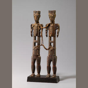 Pair of Akye Figures