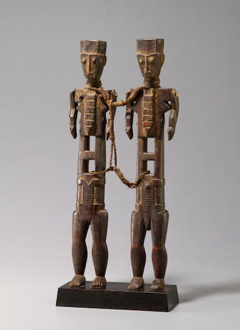 Akye Bound Standing Couple, Ivory Coast