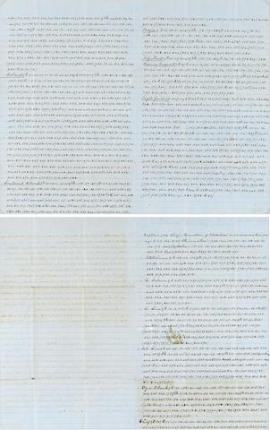 Civil War Code Letter
