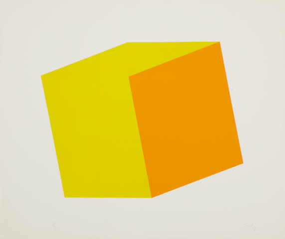 Ellsworth Kelly (born 1923); Yellow/Orange;