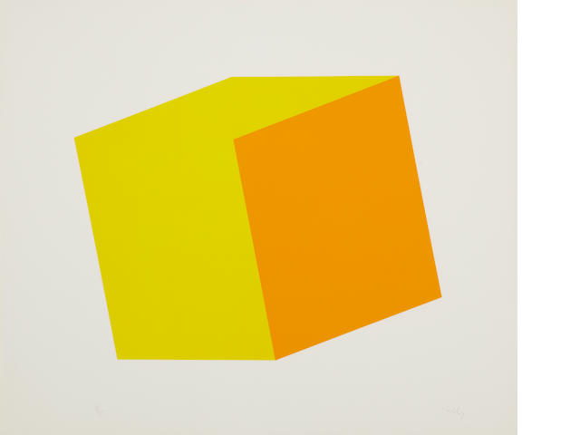Ellsworth Kelly (born 1923); Yellow/Orange;
