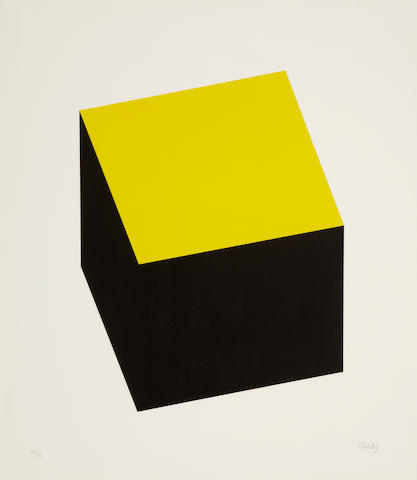 Ellsworth Kelly (born 1923); Yellow/Black;