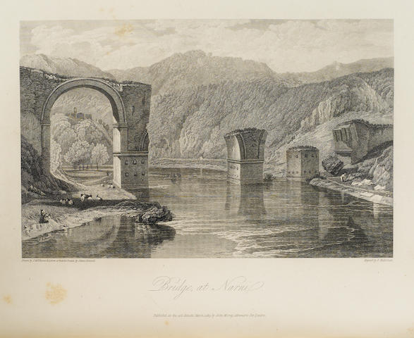 HAKEWILL, JAMES. 1778-1843. A Picturesque Tour of Italy, from Drawings Made in 1816-1817. London: John Murray, 1820.