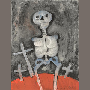 Rufino Tamayo (1899-1991); Man'ha Garreau-Dombasle, Aztlan, Songes of Mexicains;