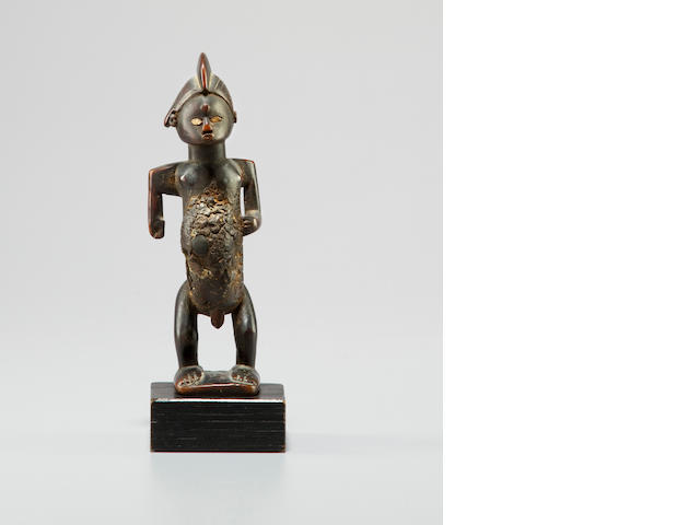 Bembe Wood Male Figure