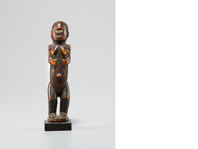 Bembe Wood Female Figure