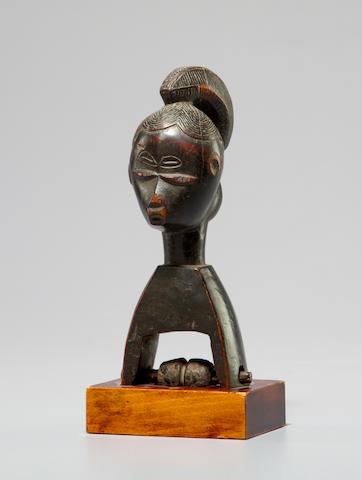 Guro Heddle Pulley, Ivory Coast