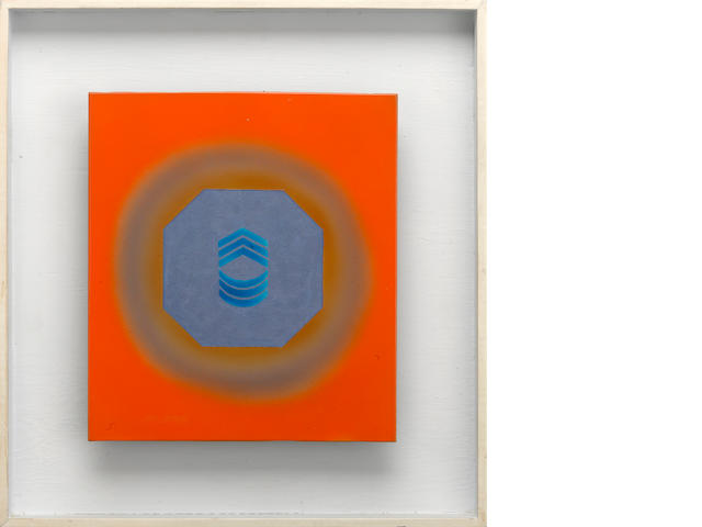 Billy Al Bengston (born 1934) Untitled, 1962 framed 13 1/2 x 12 1/2in (34.3 x 31.8cm)