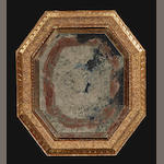 An Empire giltwood mirror<BR />frame first quarter 19th century