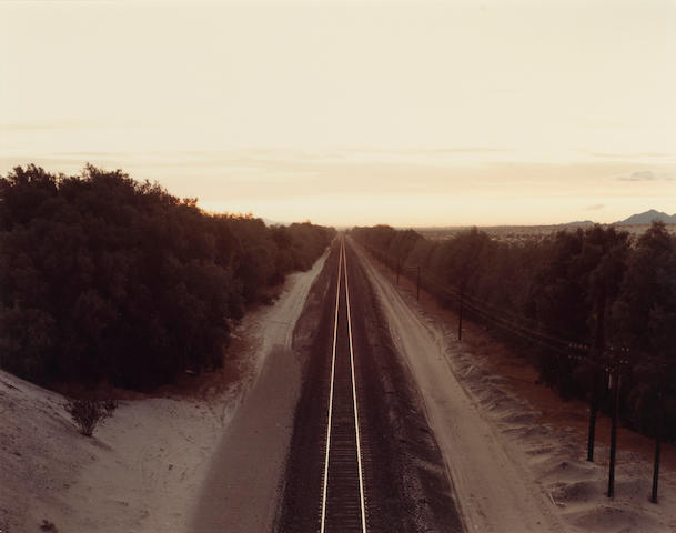 Richard Misrach, (2) Train tracks; Comfort Station;