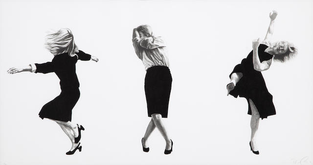 Robert Longo (born 1955); Untitled,  from Men in the Cities;