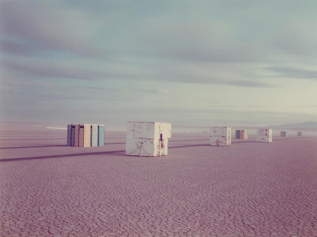 Richard Misrach (American, born 1949); Comfort Stations 1983 c-print Provenance: Jan Kesner Gallery, Los Angeles;