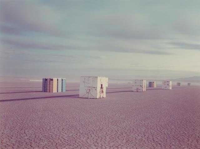 Richard Misrach (American, born 1949); Comfort Stations 1983 c-print Provenance: Jan Kesner Gallery, Los Angeles;