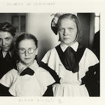 Duane Michals, Children in Leningrad, 1958;