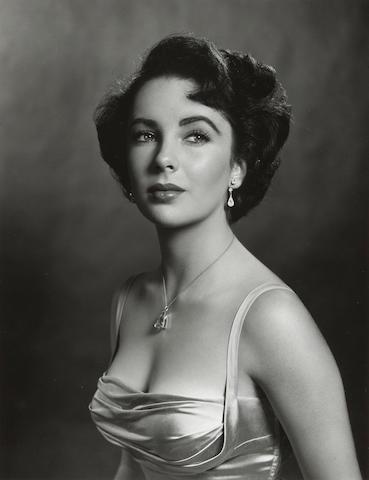 Philippe Halsman (American, 1906-1979); Elizabeth Taylor;