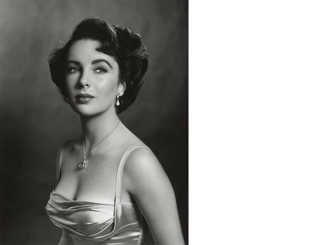 Philippe Halsman (1906-1979); Elizabeth Taylor;