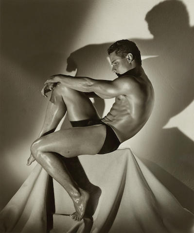 Herb Ritts (1952-2002); Greg Louganis, Hollywood;