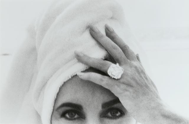 Herb Ritts (1952-2002); Elizabeth Taylor, Malibu;