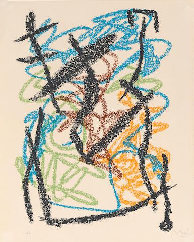 Joan Miró (1893-1983); from Je travaille comme un jardinier;
