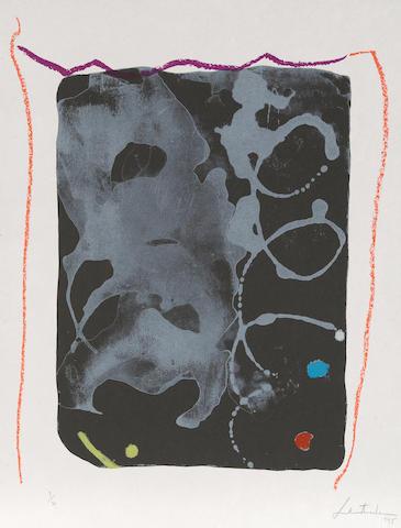 Helen Frankenthaler (1928-2011); Reflections VI;