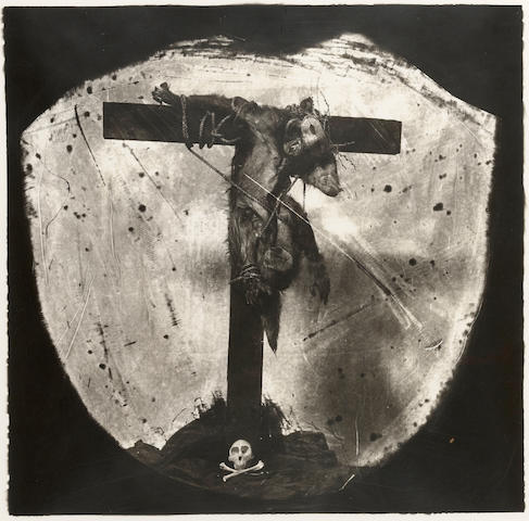 Joel-Peter Witkin (born 1939); Savior of the Primates, New Mexico;
