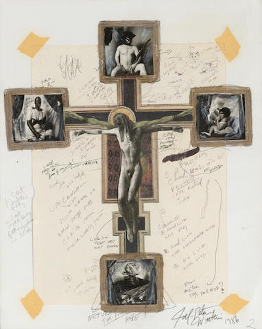 Joel-Peter Witkin (born 1939); Maquette for the Crucifix;