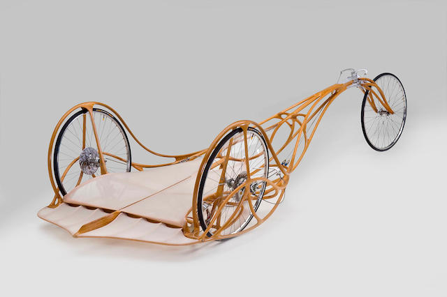 Michael Cooper (b.1943) Soap Box Racer (ITEM IS OFF SITE/MUSEUM SHOW TO BE DELIVERED TO BONHAMS JANUARY 2013 - TO BE SOLD IN APRIL 2103 #TBD) 1976