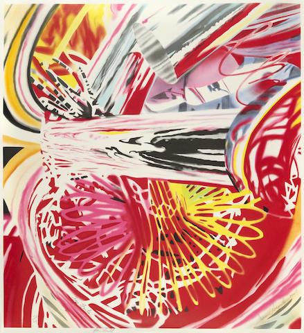James Rosenquist (American, born 1933); Fire Fountain;