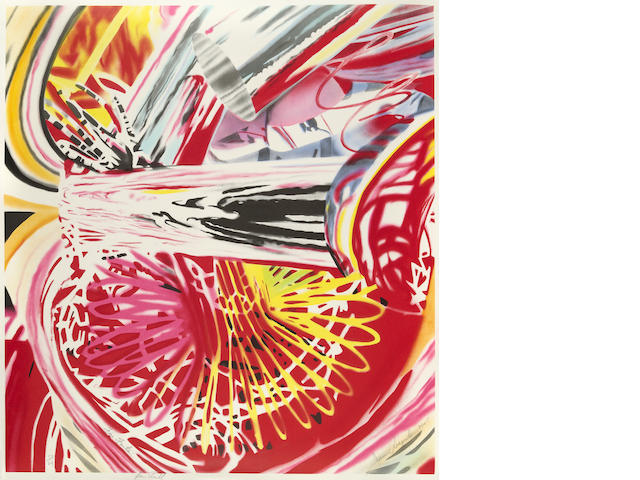 James Rosenquist (born 1933); Fire Fountain;