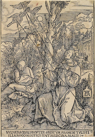 Albrecht Dürer (1471-1528); St. Francis receiving the stigmata;